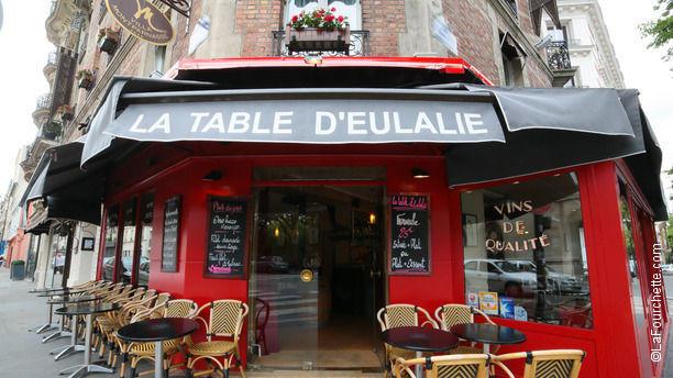 a la table d