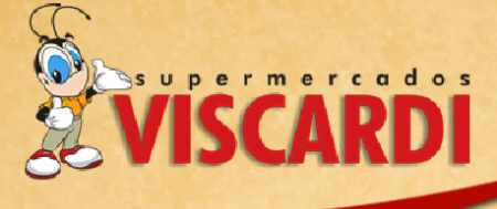 Supermercados viscardi logo