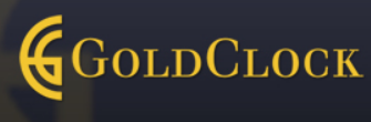 Gold Clock logo