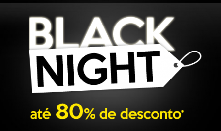 Black night logo