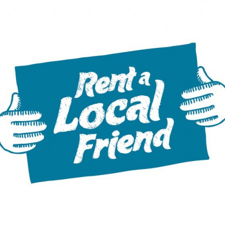 Rent a Local Friend logo