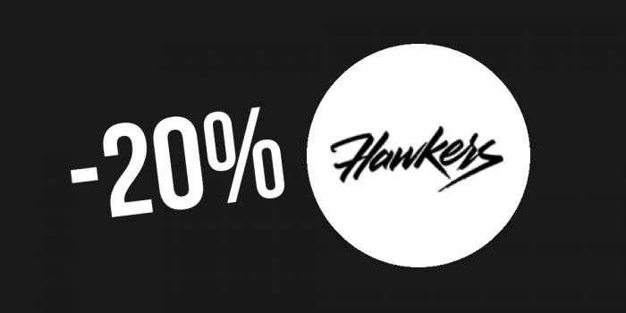 Código de descuento Hawkers