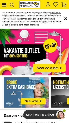 Badkamerwinkel.nl kortingscode » 35% korting + Acties in augustus 2018